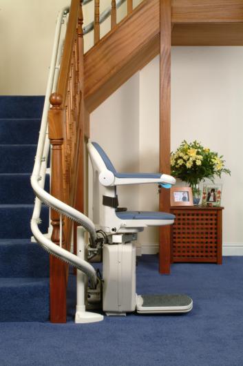 sillas salva escaleras para escaleras rectas y curvas